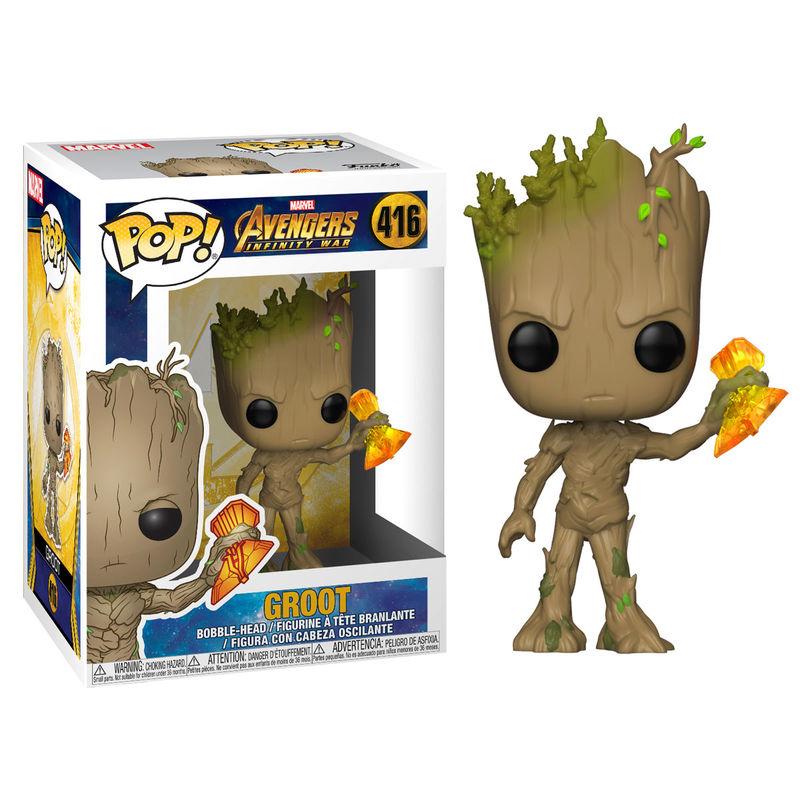 Funko POP o Figura POP Marvel Infinity War Groot Stormbreaker