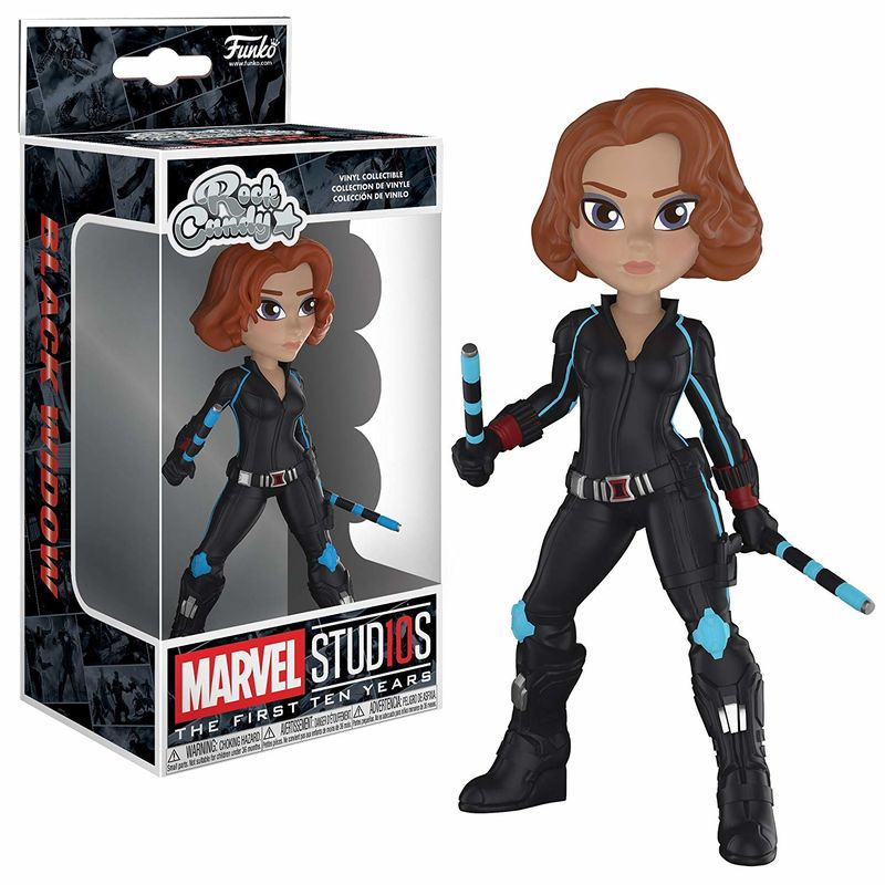 Figura Funko Vinyl Rock Candy Marvel Studios 10 Black Widow