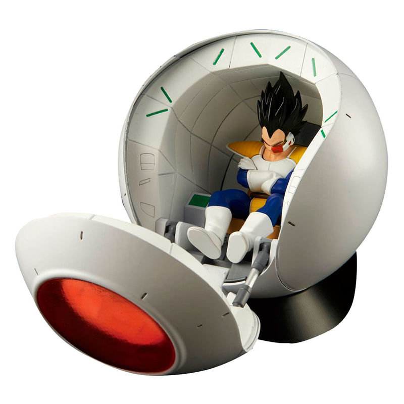 Figura Space Pod Model Kit Dragon Ball Z 25cm