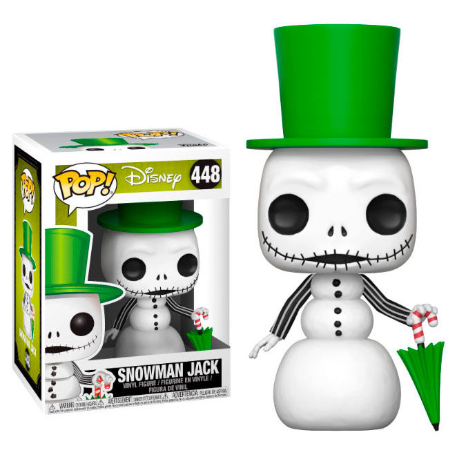 Funko POP o Figura POP Disney Pesadilla Antes de Navidad Snowman Jack