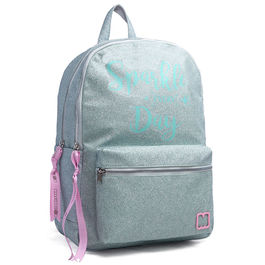 Mochila Marshmallow Sparkle in Green 45cm