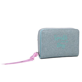 Cartera Marshmallow Sparkle in Green