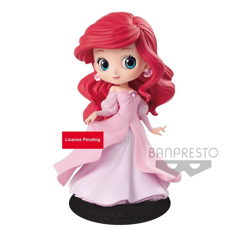 Figura Ariel Princess Dress Disney Q posket 14cm By Banpresto