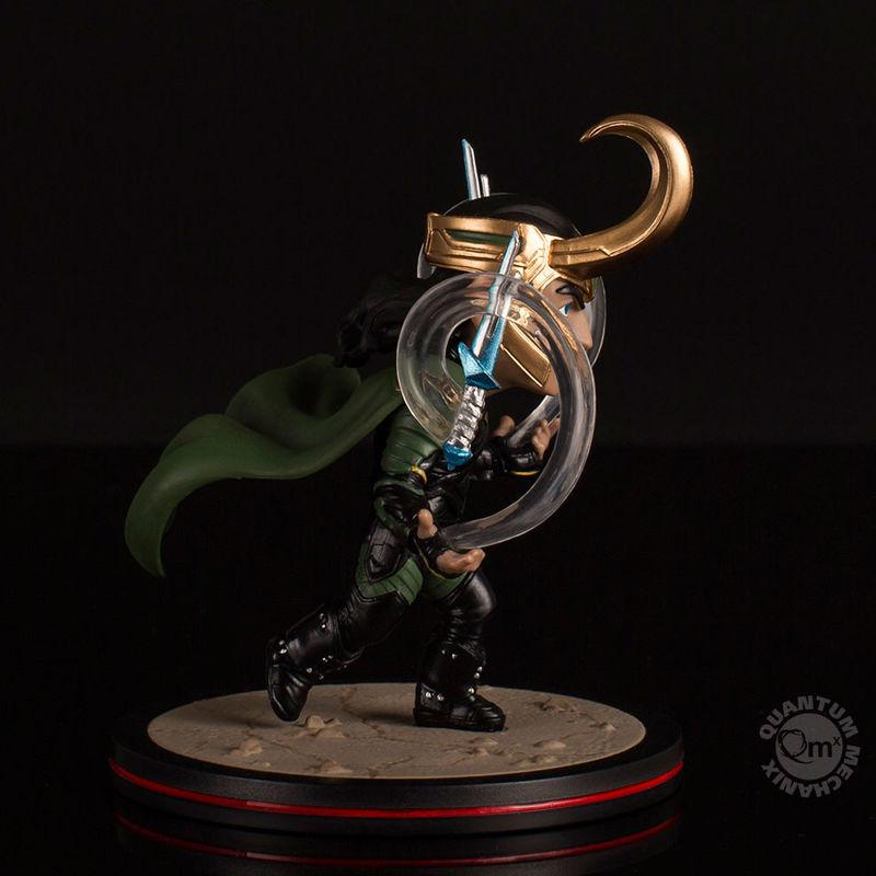 Figura diorama Loki Thor Ragnarok Marvel 10cm