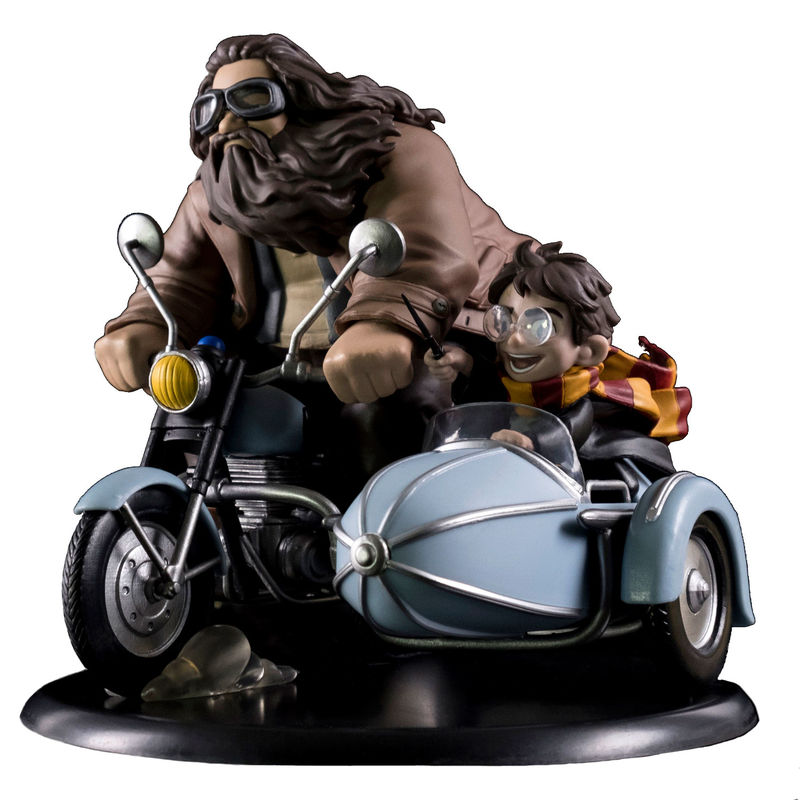 Figura Harry y Hagrid Harry Potter 18cm