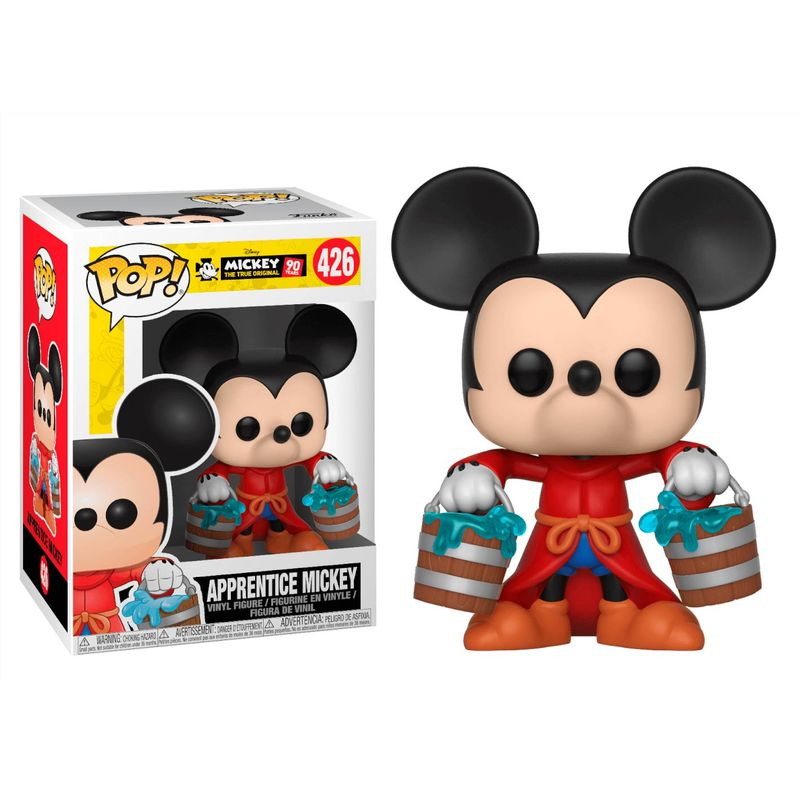 Funko POP o Figura POP Disney Mickey's 90th Apprentice Mickey