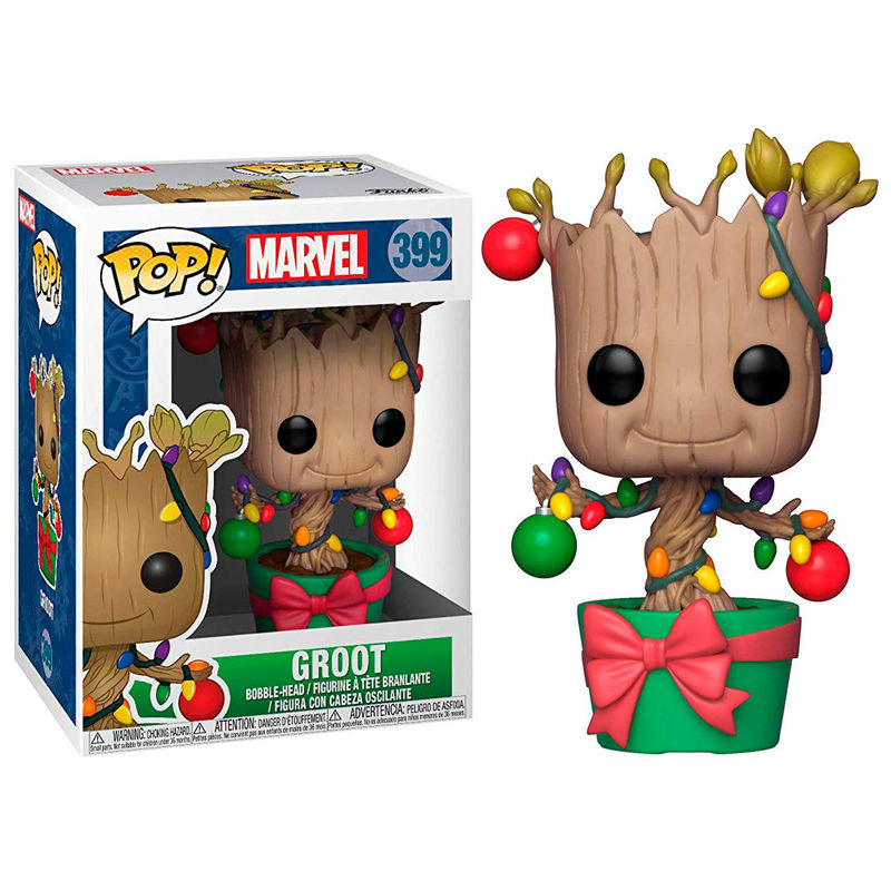 Funko POP o Figura POP Marvel Holiday Groot with Lights & Ornaments