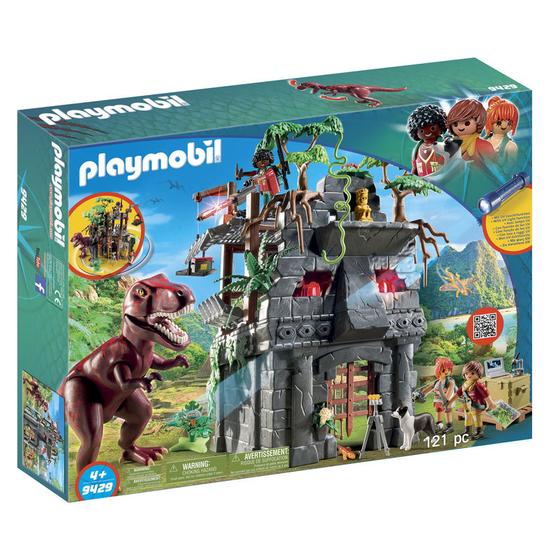 Campamento Base con T-Rex Playmobil The Explorers