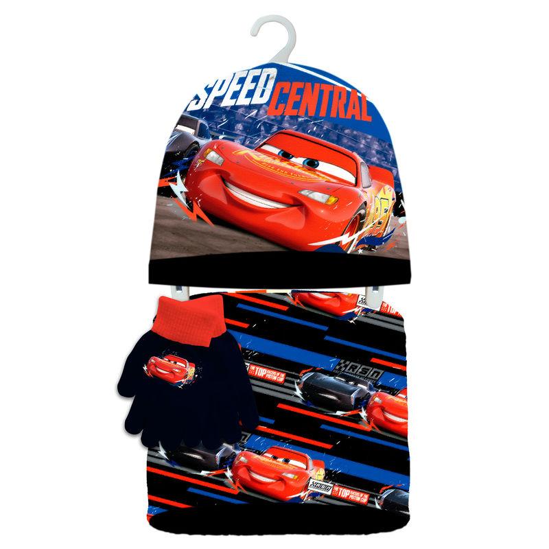 f5b36cc07bf Disney Cars winter set snood hat gloves