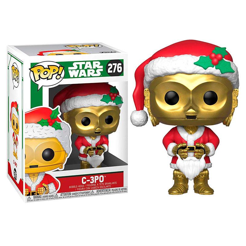Figura POP Star Wars Navidad C-3PO es Santa