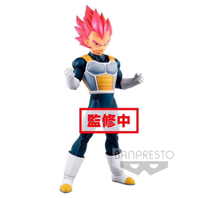 Figura Super Saiyan God Vegeta Cyokuku Buyuden Dragon Ball Super 22cm