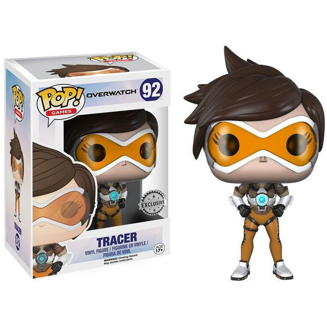 Figura POP Overwatch Tracer Posh Exclusive