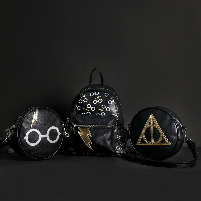 Bolso bandolera Deathly Hallows Harry Potter