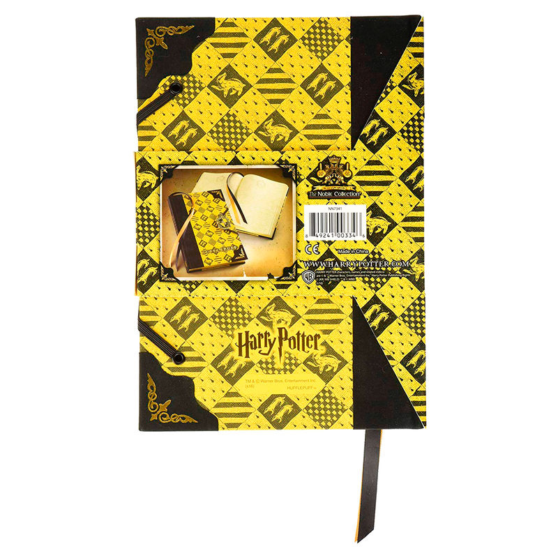 Diario Huffelpuff Harry Potter