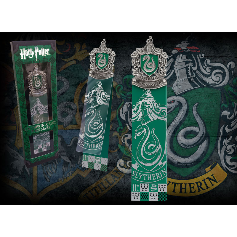 Marcapaginas Slytherin Harry Potter