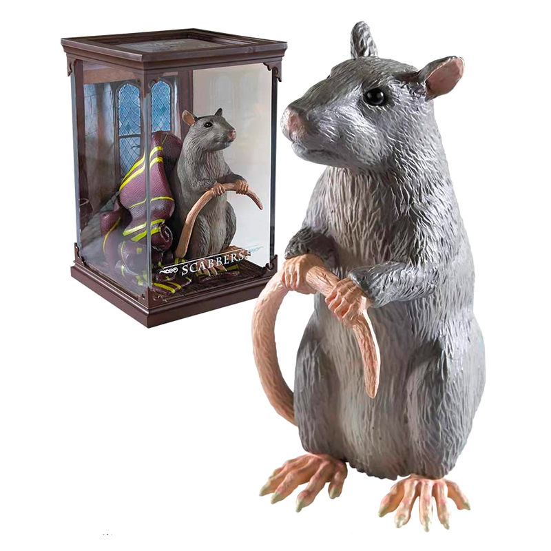 Figura Scabbers Harry Potter By Noble Collection