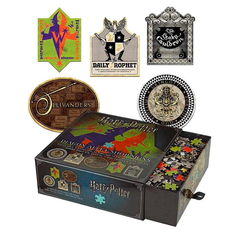 Puzzle Tiendas Callejon Diagon Harry Potter 200pz