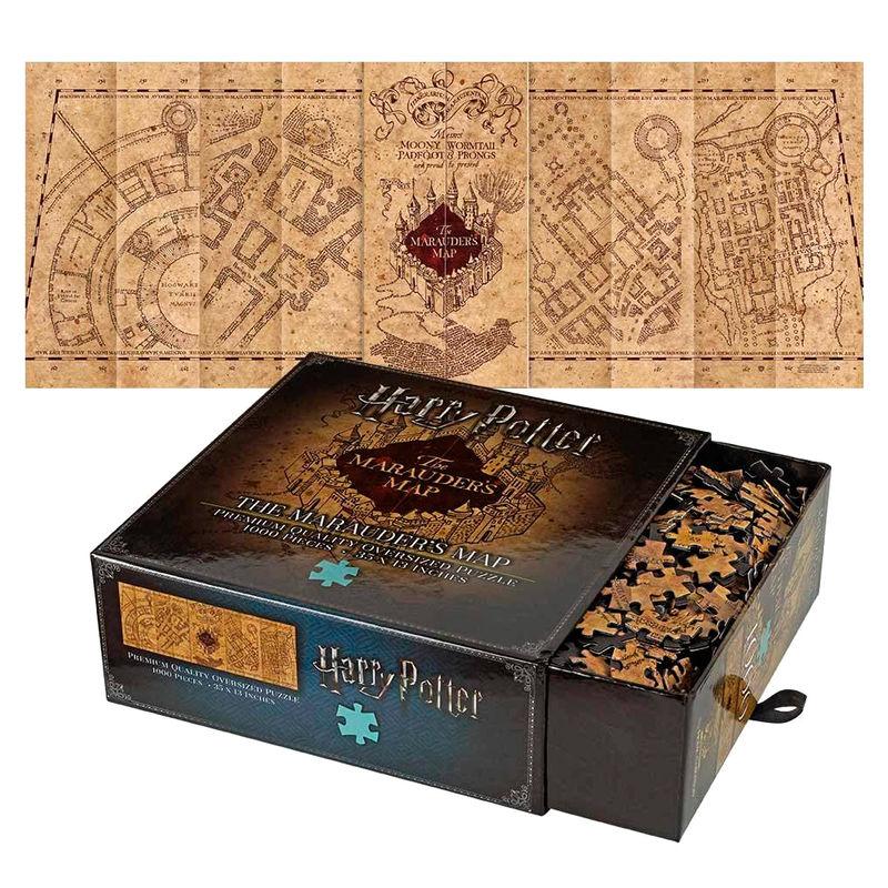 Puzzle Mapa del Merodeador Harry Potter 1000pz
