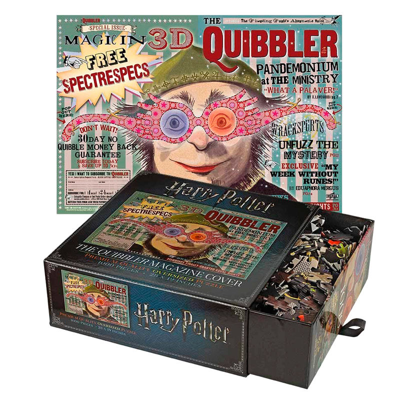 Puzzle The Quibbler Magazine Harry Potter By Noble Collection