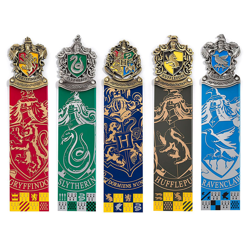 Set 5 marcapaginas Harry Potter