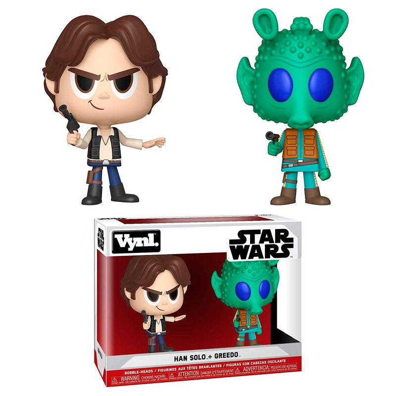 Figuras Vynl Star Wars Han Solo & Greedo