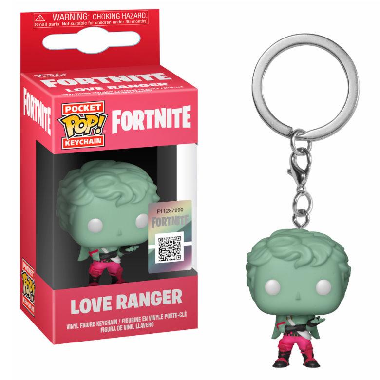 Llavero Pocket POP Fortnite Love Ranger