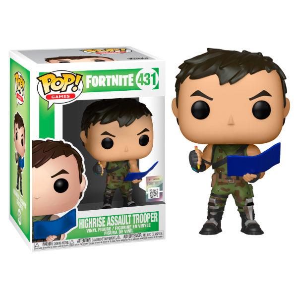 Figura POP Fortnite High Rise Assault Trooper