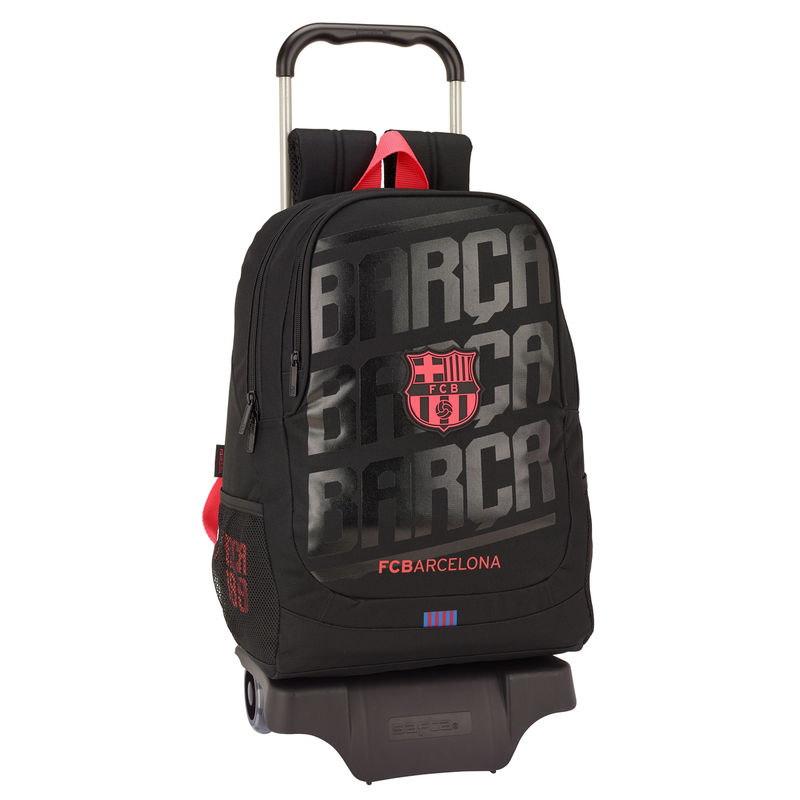 Trolley F.C Barcelona Black 44cm carro 905
