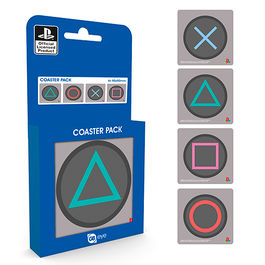 Pack posavasos Buttons Playstation