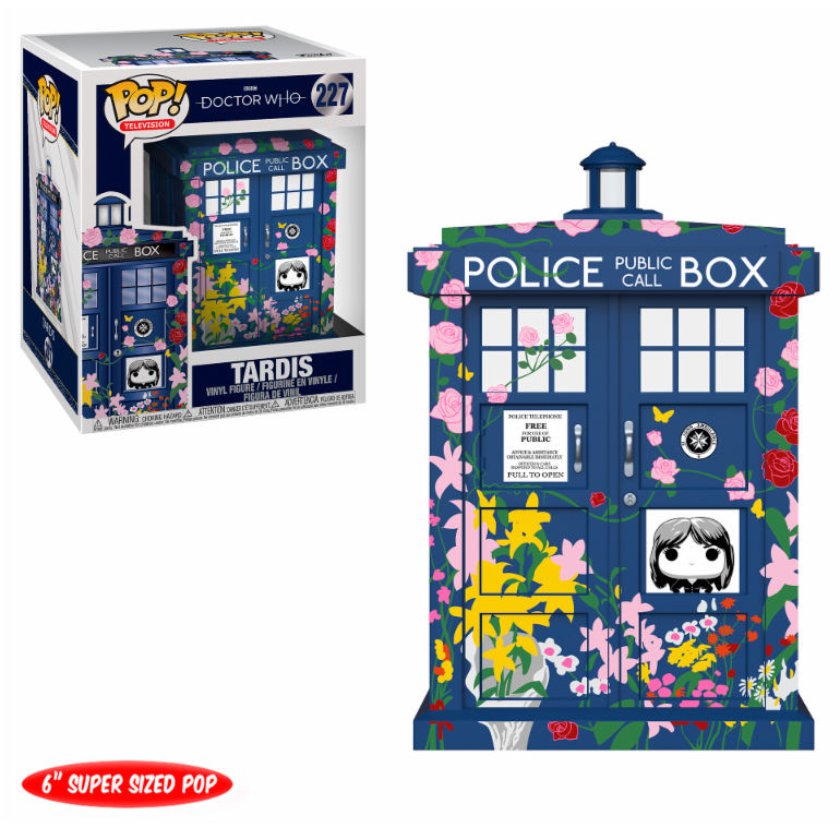 Figura POP Doctor Who Tardis Clara Memorial 15cm