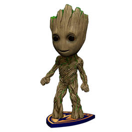 Figura Groot Guardianes de la Galaxia Marvel Head Knockers 18cm