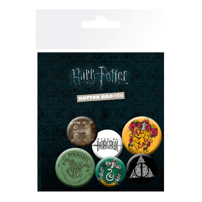 Set chapas Harry Potter