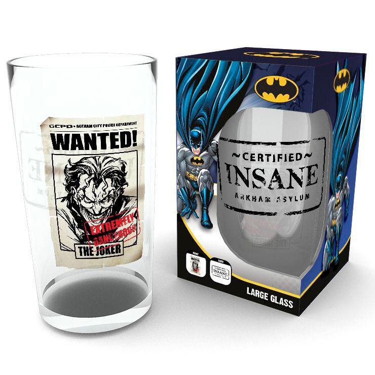 Vaso The Joker Insane Batman DC Comics 5028486333264