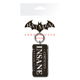 Llavero rubber Certified Insane Batman DC Comics