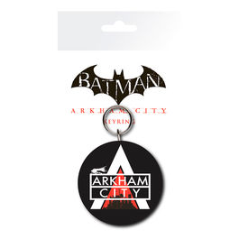 Llavero rubber Logo Batman DC Comics