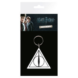 Llavero rubber Deathly Hallows Harry Potter