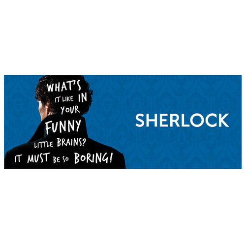 Taza What's It Like Sherlock