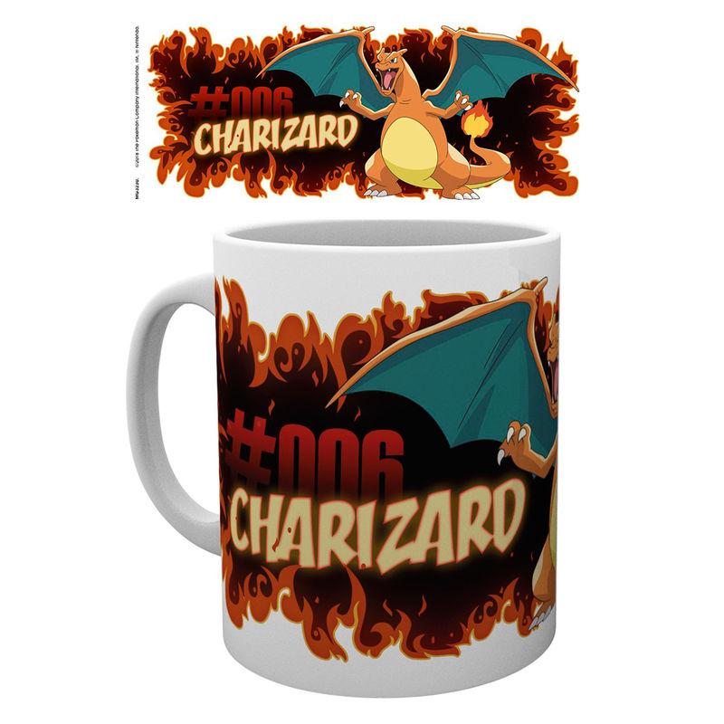 Taza Charizard Fire Pokemon