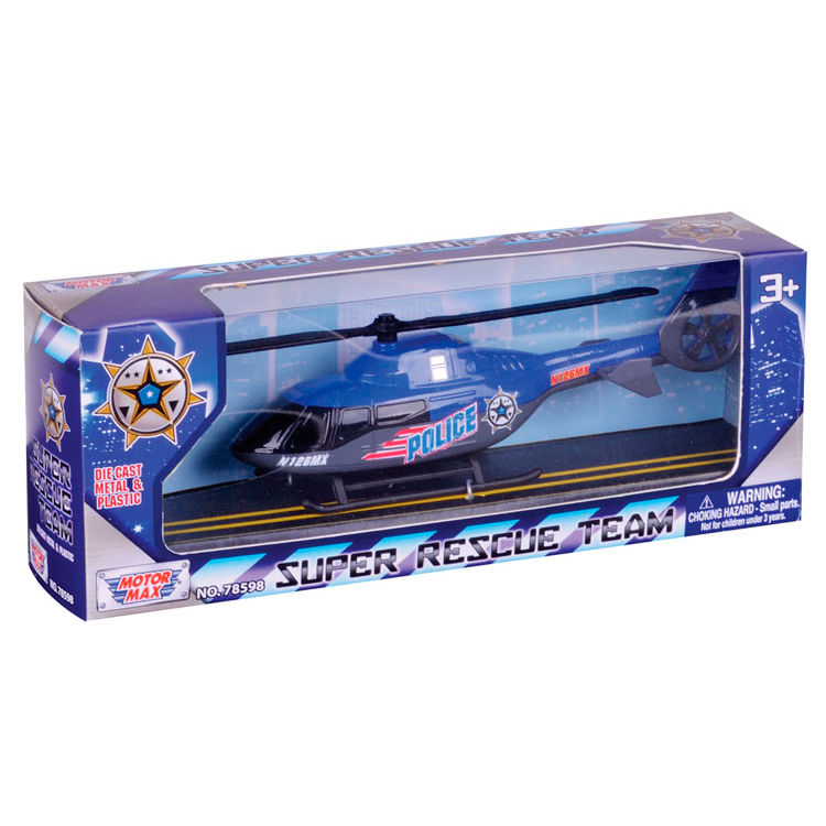 Helicoptero Rescate Die Cast surtido