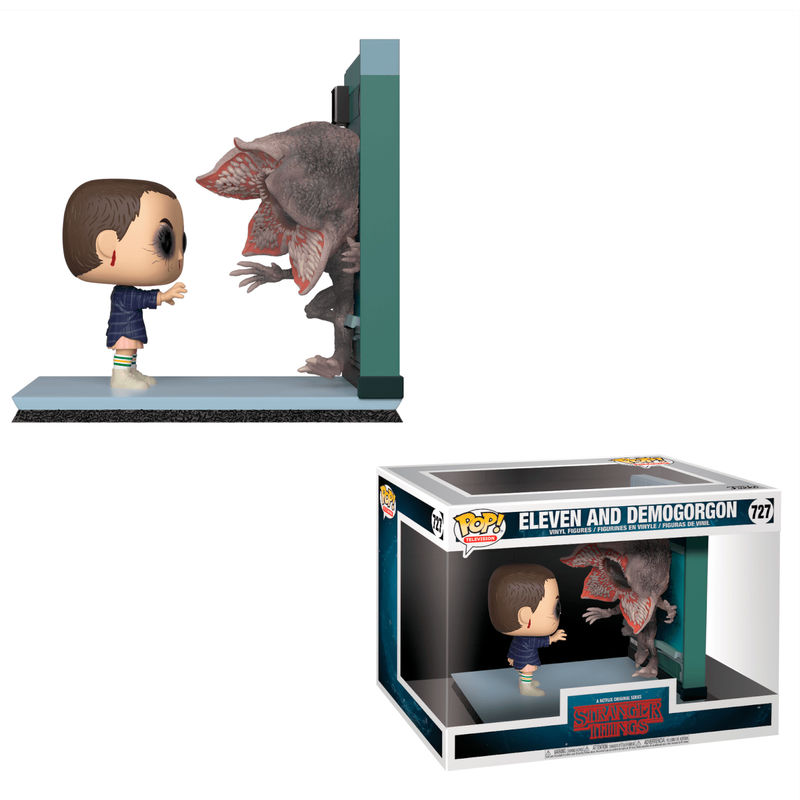 stranger things, eleven, demogorgon, movie moments, pop funko, funko, funko pop, vinyl, pop vinyl, netflix, show tv,