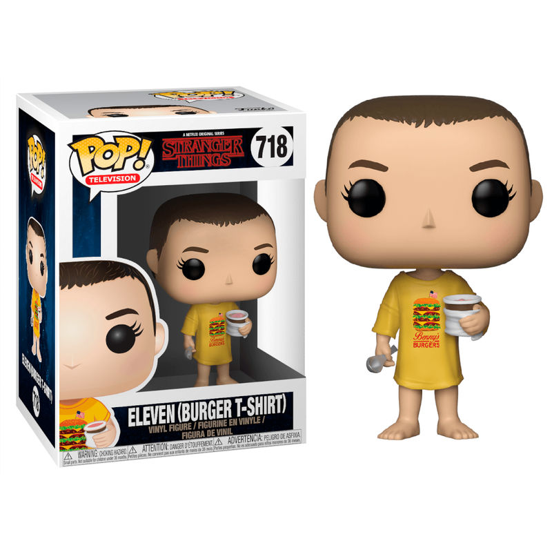 Figura POP Stranger Things Eleven in Burger Tee