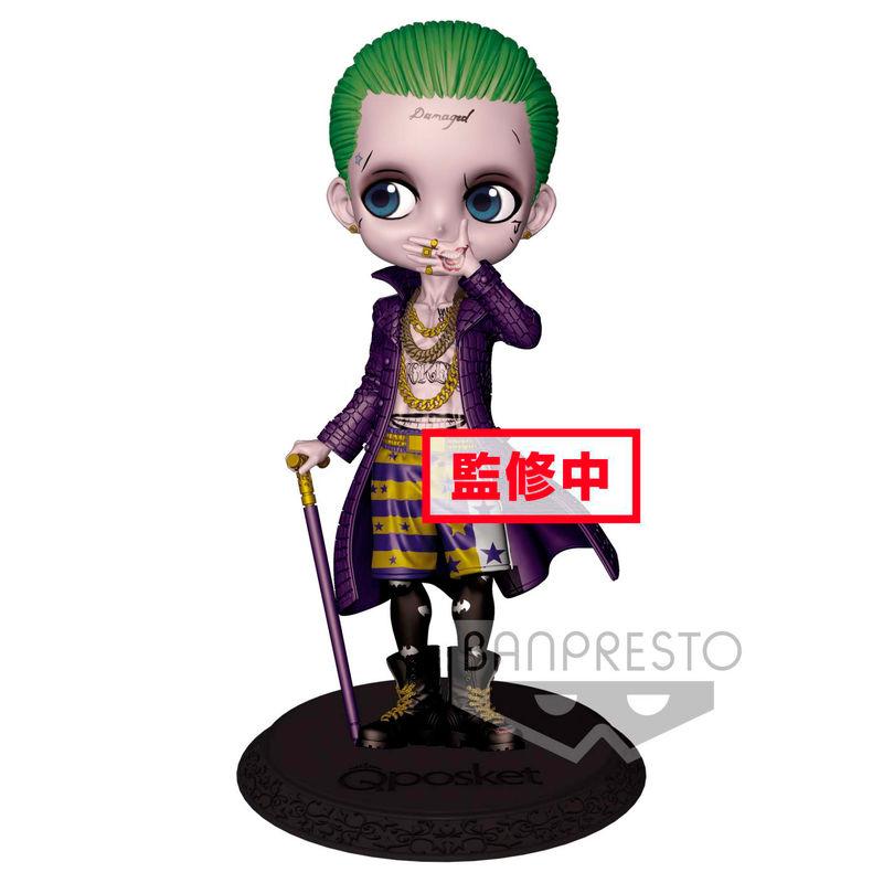 Figura Joker Escuadron Suicida DC Comics Q Posket A 14cm