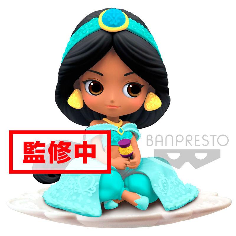 Figura Jasmine Aladdin Disney Q Posket Sugirly B 9cm 3296580826872