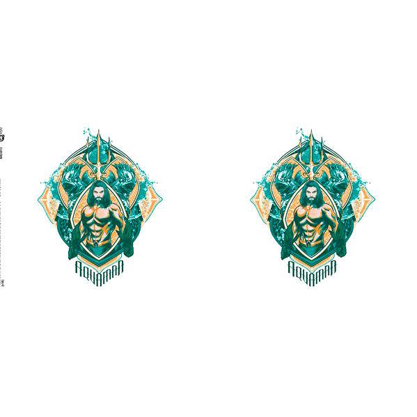 Taza Crest Aquaman DC Comics