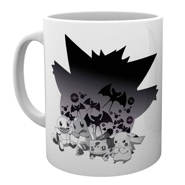 Taza Halloween Starters Pokemon