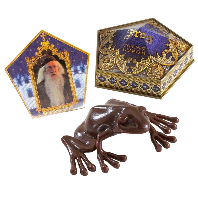 Figura antiestres Rana de Chocolate Harry Potter