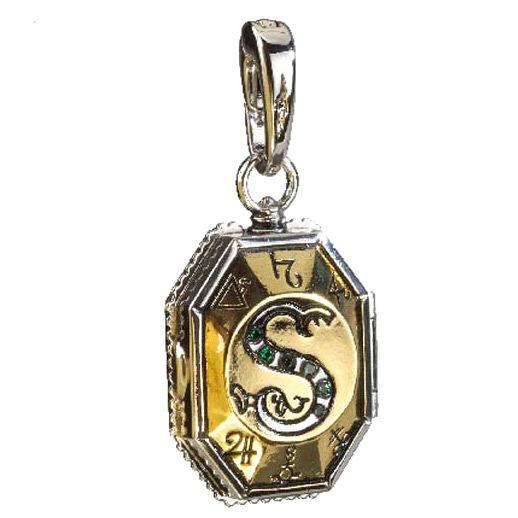 Colgante charm Guardapelo Slytherin Harry Potter