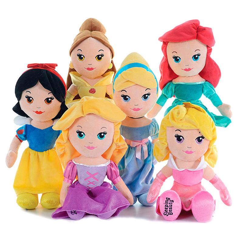 Peluche Princesas Disney soft 38cm surtido 5038104710728