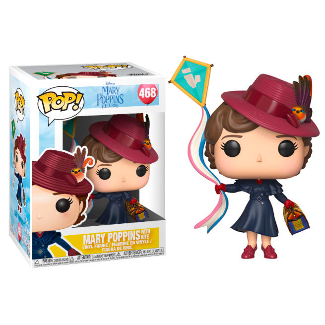 Figura POP Disney Mary Poppins Mary with Kite