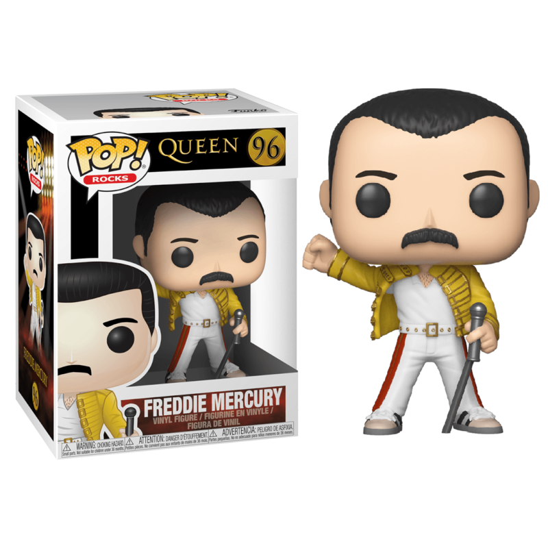 Funko POP Queen Freddie Mercury Wembley 1986